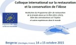 Colloque international sur l'étude, la restauration et la gestion de l'alose à Bergerac